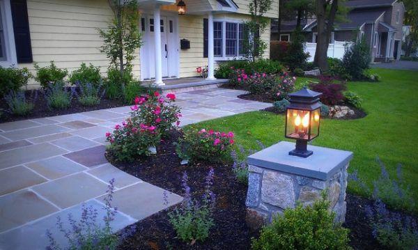 patio design ideen - vorgarten gestalten | kathas vorgarten ... - Outdoor Patio Design Ideen