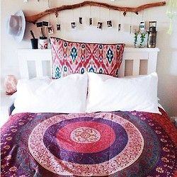 I love the stick as a headboard/Dreamcatcher/wish list....must have!!