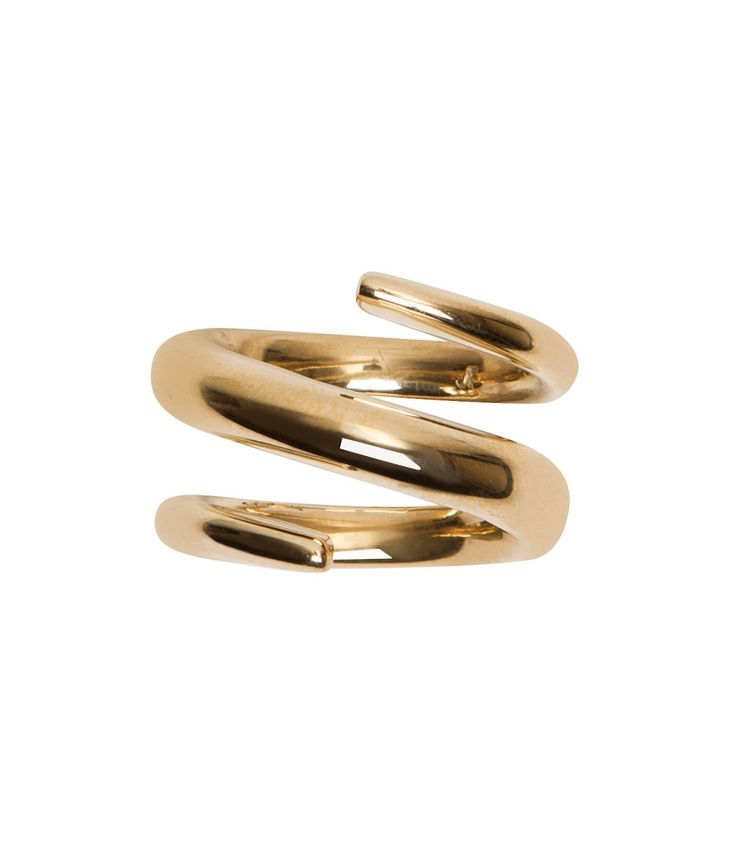 Jennifer Fisher Twisted Cylinder Ring