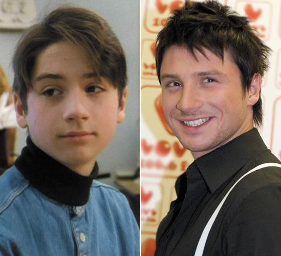 Sergey Lazarev in teens