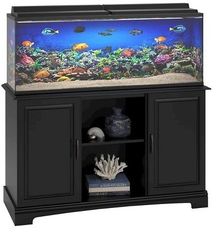 Altra Harbor 50-75 Gallon Aquarium Stand - Black