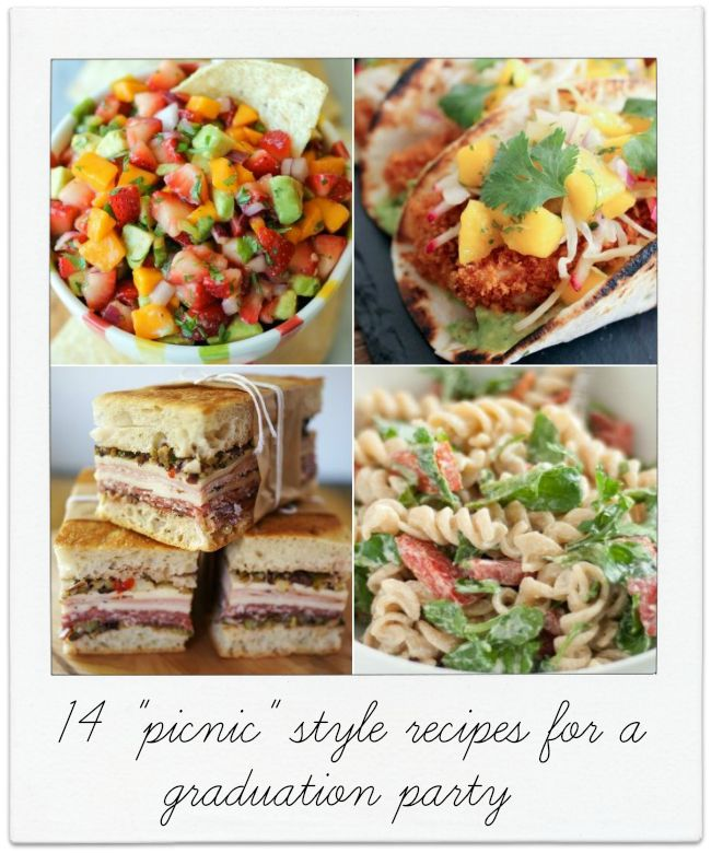 WHAT TO SERVE FOR A GRADUATION PARTYSummer Picnic