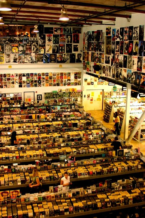 Amoeba Music Record Store In Hollywood California