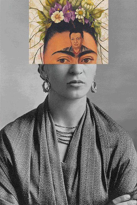 gif de frida kahlo
