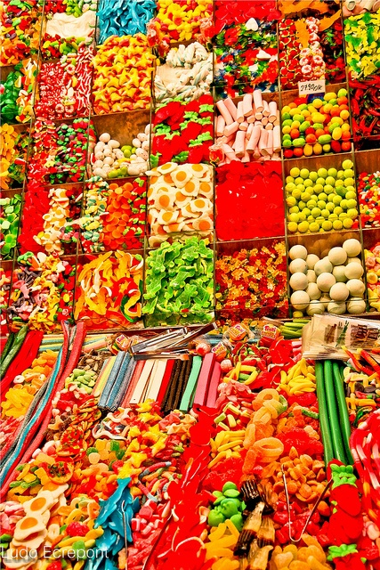 Colorful candy.