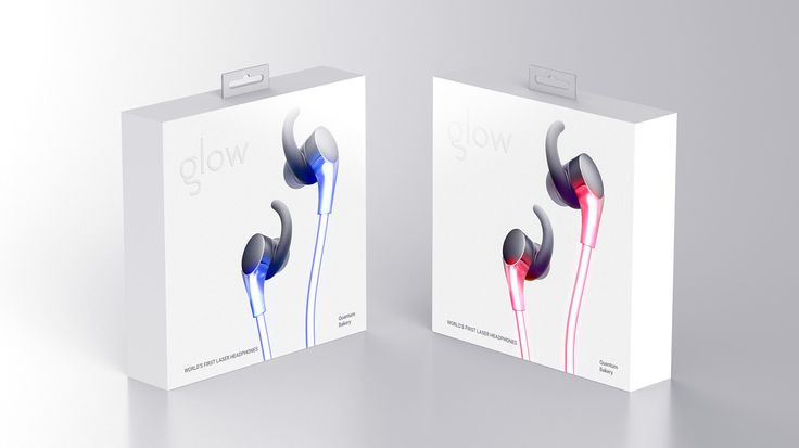 Glow Headphones on Behance