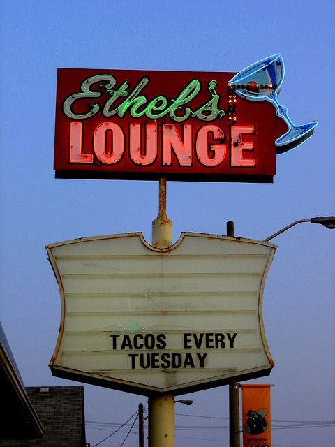 Ethel's Lounge. Tacos every tuesday, Uptown Waterloo | Flickr - Photo Sharing!