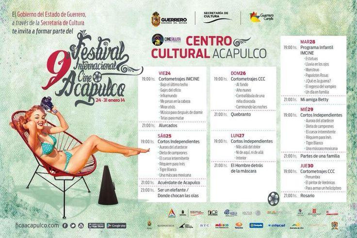 Cop@News informa: Ya estamos listos? #programa #Acapulco sede como año de éste importante Festival #FICA2014