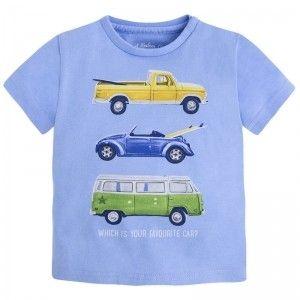 MAYORAL koszulka samochody 1022 90