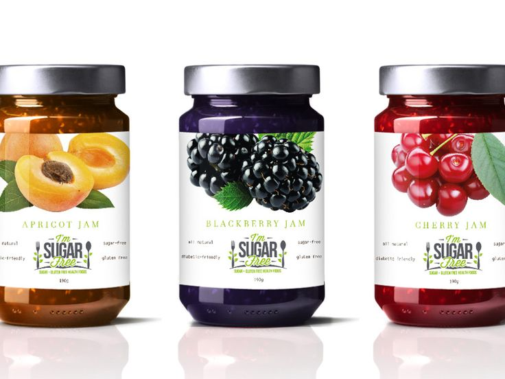 I'm Sugarfree Jam Packaging by Kaye Manansala