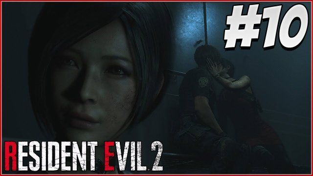 Leon And Ada Kiss Resident Evil 2 Remake Gameplay Part 10 Re2