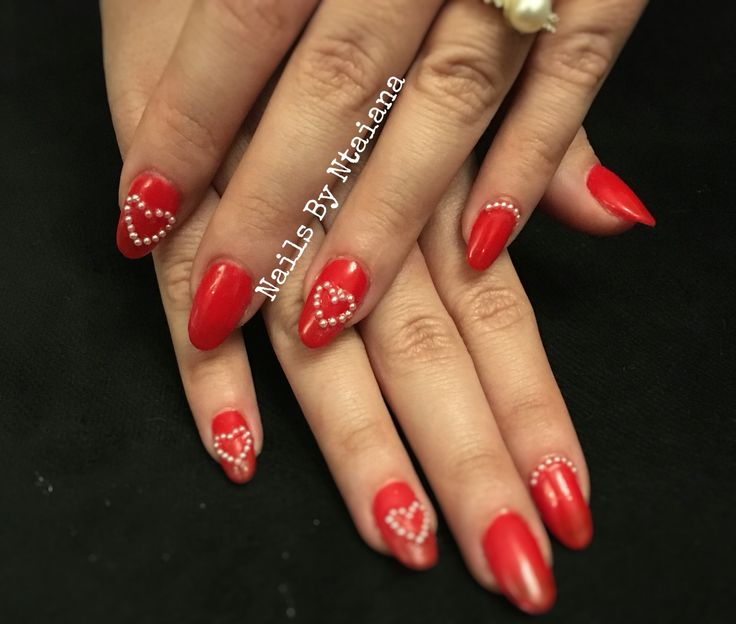 #gel#nails#weddingnails#red#devil