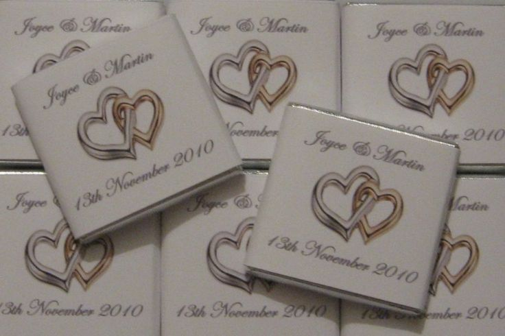 personalised chocolate for valentine's day