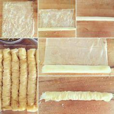 Baklava Rolls à la Noix de Coco et aux Amandes