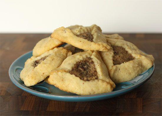 Chocolate Chip Cookie Dough Filled Hamentashen