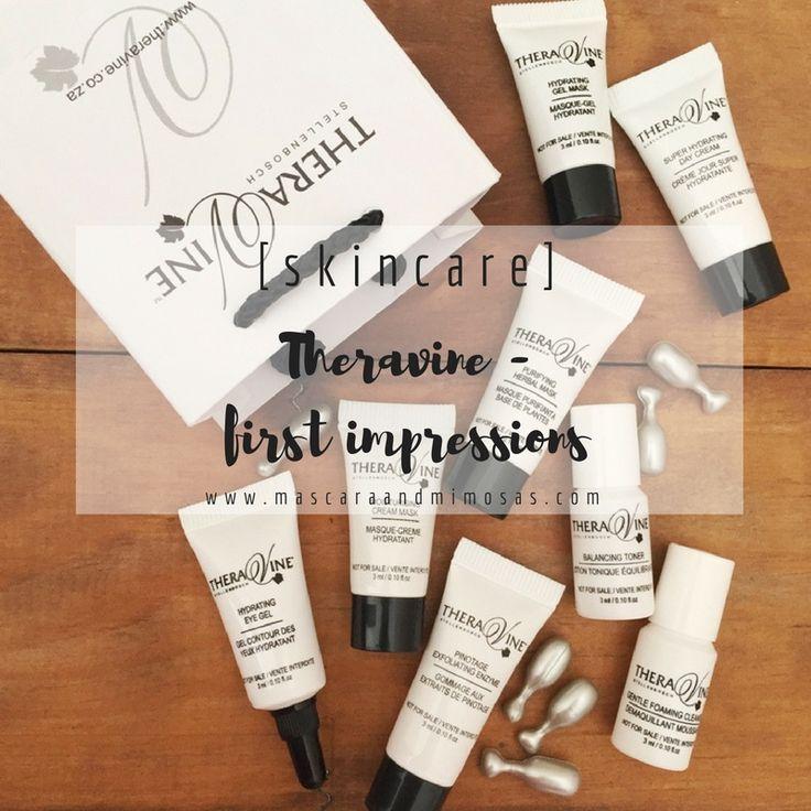 [skincare] : Theravine - first impressions -