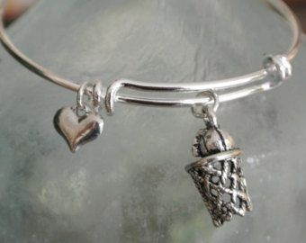 I love Basketball!  Cute basketball charml and heart bracelet.  Coach gift!
