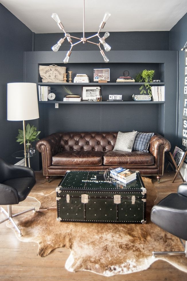 Best 25 masculine office ideas on pinterest masculine for Masculine rustic decor