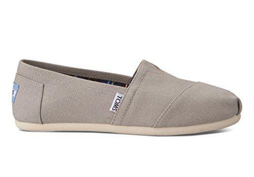 Toms Espadrilles Classic Light Grey Canvas 100001379 Sneaker - http://on-line-kaufen.de/toms-3/toms-espadrilles-classic-light-grey-canvas