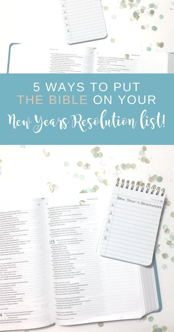 2018 Is Here Are You Making New Year S Resolutions Don T Forget About Spiritual Goal Setting How Are Yo New Years Resolution List New Years Resolution Bible