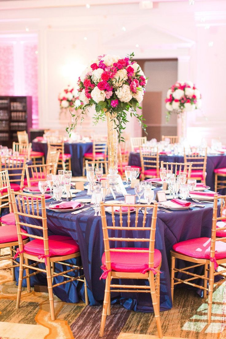 Pink And Blue Table Decorations Loris Decoration