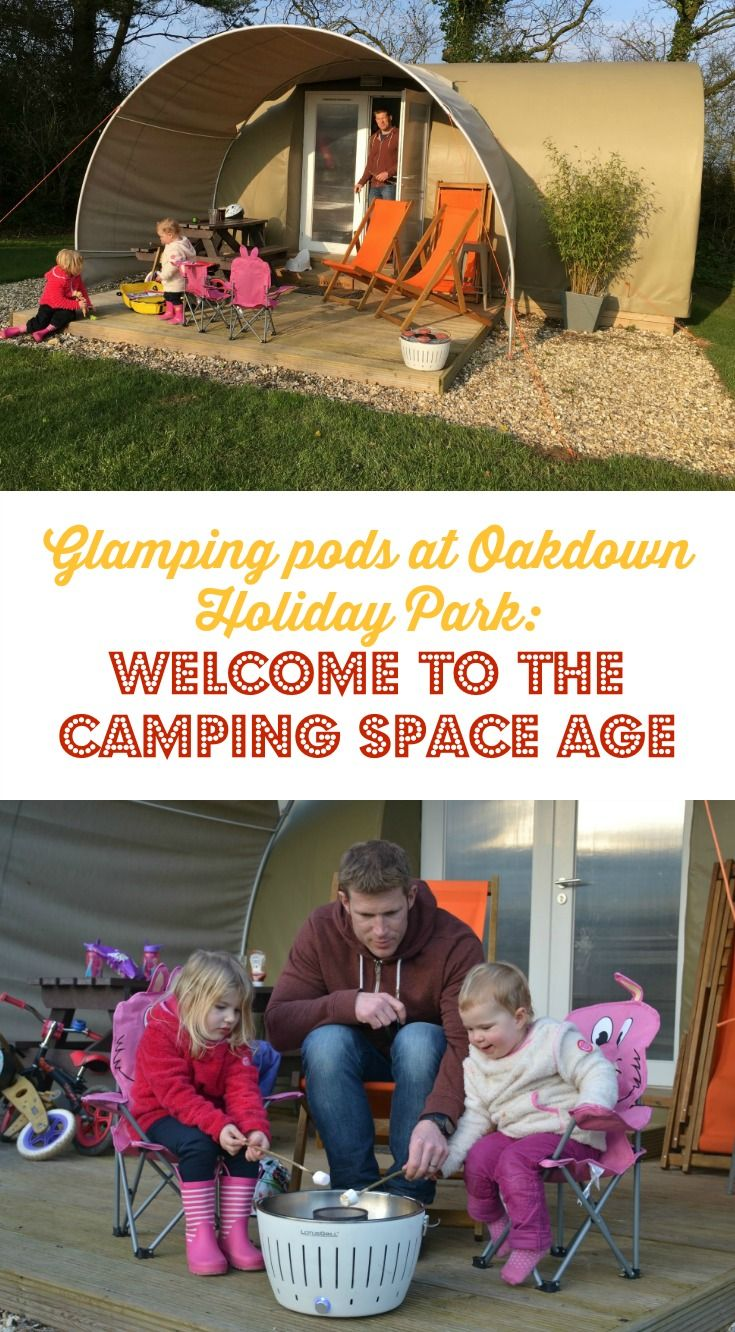 It's camping but not as we know it. Whenever I hear the word 'glamping' I think of bell tents decked out with lavish cushions and vibrant carpets. Or safari style tents with shady verandas and crackling fire pits. Last weekend we were invited to review so
