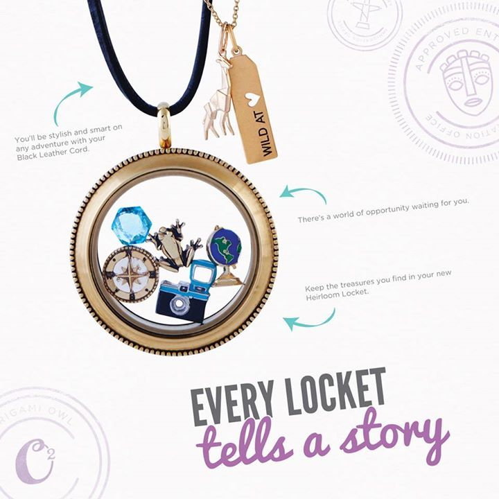 Origami Owl Custom Jewelry Mary Harral Independent: Every Locket Tells A Story... What's Yours? Follow YVONNE