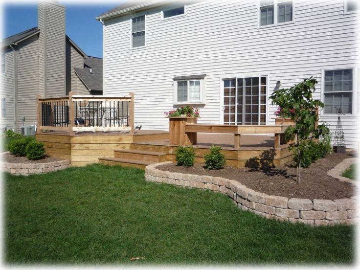 best 25+ landscaping around deck ideas on pinterest | patio table ... - Deck Patio Ideas