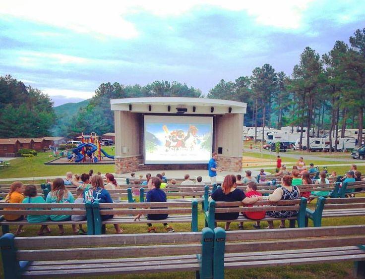 Yogi Bear S Jellystone Park In Luray Virginia Jellystone Park Yogi Bear Jellystone Park Outdoor Movie Theater