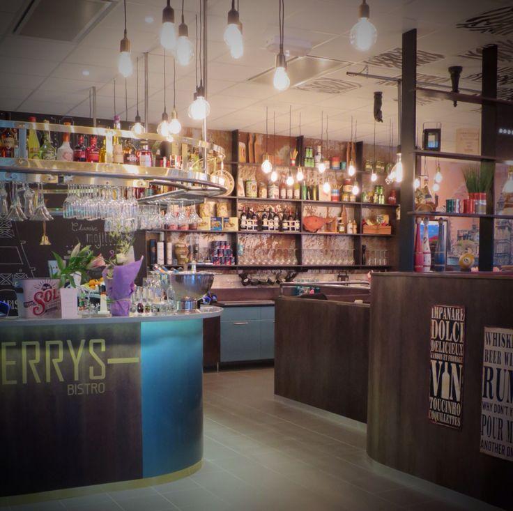 Ferrys Bistro Har vi skapat! Inredning & Designverkstaden tillsammans med IDe-A Livstilsbutik