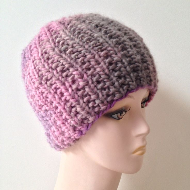 Beanie cap, wool, handmade, knitted, winter cap, woollen yarn by justknitted1 on Etsy