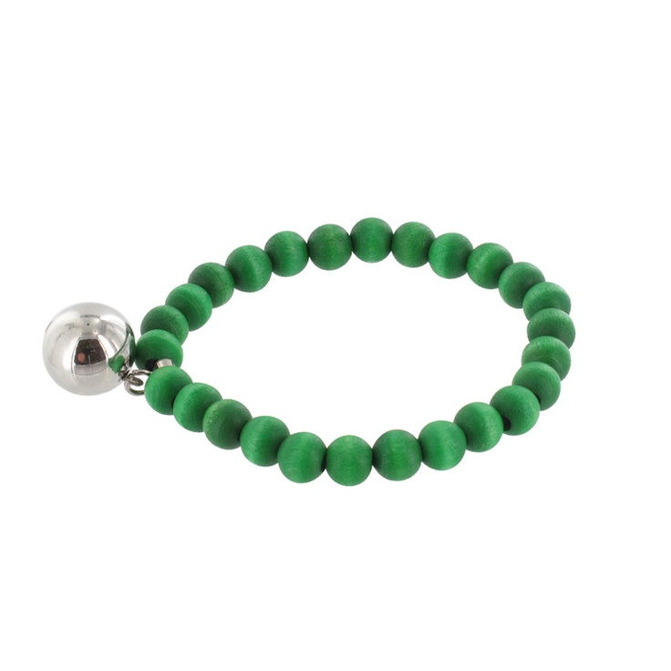Aarikka - Bracelets : Täysikuu bracelet, green