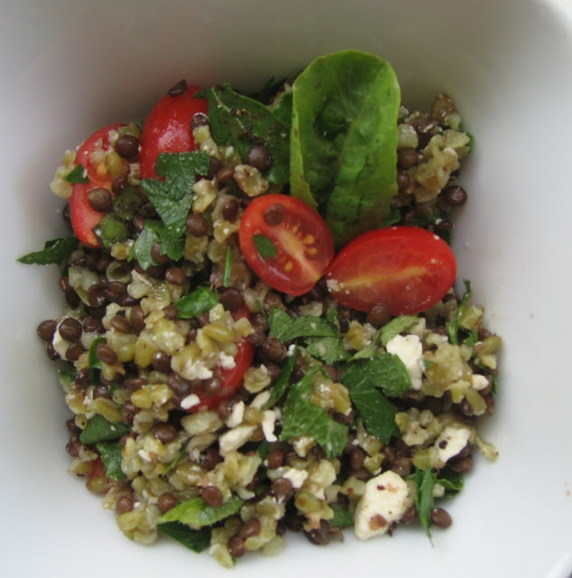 La Diva Cucina: Get Yer Freekeh On Middle Eastern Salad http://www.ladivacucina.com Miami cooking classes
