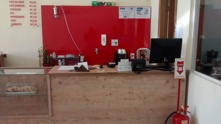 Projeto Comercial de uma confeitaria com fornos à gas - Balcão
