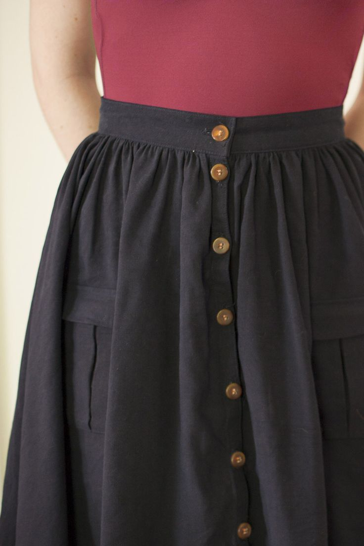 Zinnia Skirt ~ Colette Patterns