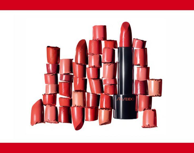 💄  A come ADERENZA superiore. Rouge rouge si fissa perfettamente alle labbra mantenendole brillanti a lungo! #sharebeauty
