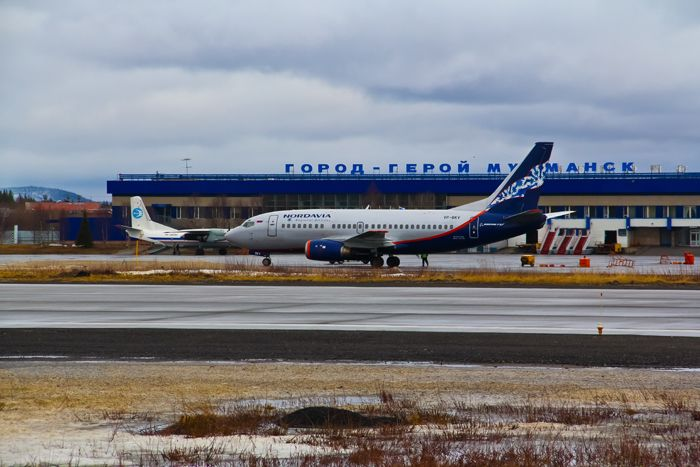 airport Murmansk