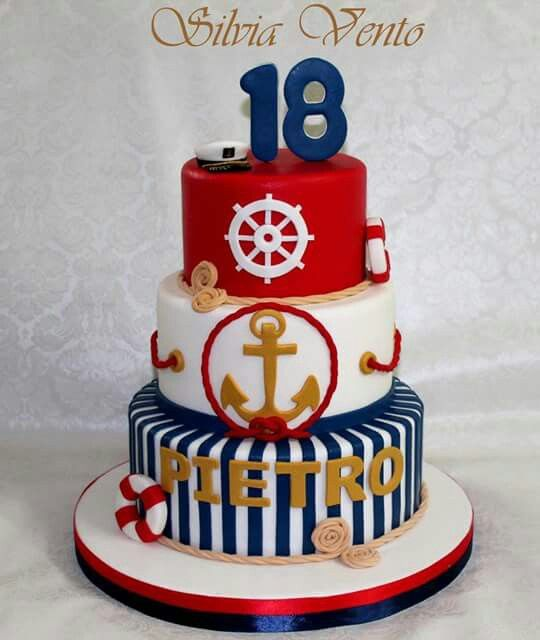 Nautical Cakes For Birthday