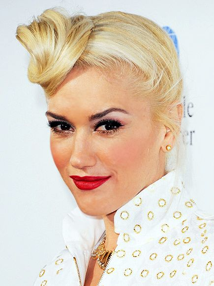 Gwen Stefani. She can look noble. Fortunately she never sounds that way.