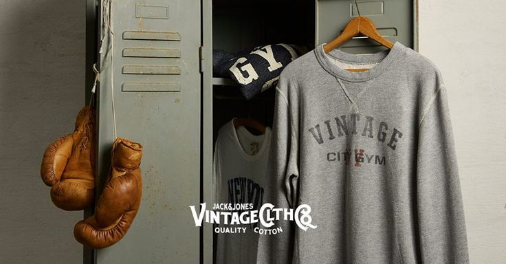 Detail-focused tees and sweats inspired by 1950's U.S. sportswear.