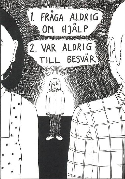 Föräldrakylan biter sig fast, skriver Ulrika Stahre om Åsa Grennvalls nya serieroman.