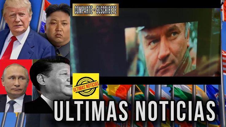 NOTICIERO MUNDIAL, HISTORIA DE LAS NOTICIAS MAS RELEVANTES DEL 2017 EDIC...