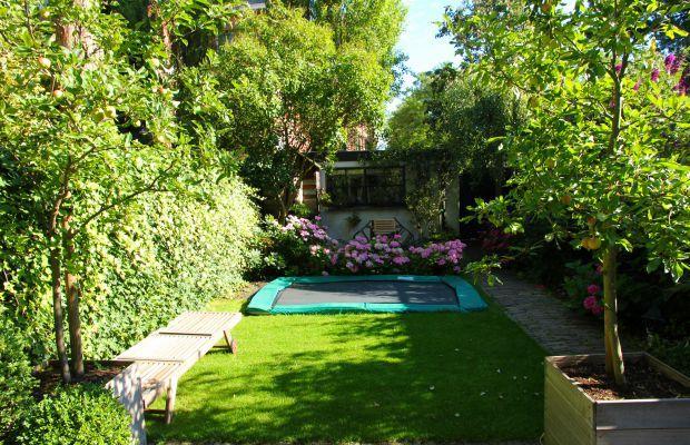 Vakantiehuis Aan de Schooter, Haarlem, Noord-Holland - 6 personen - trampoline in de tuin