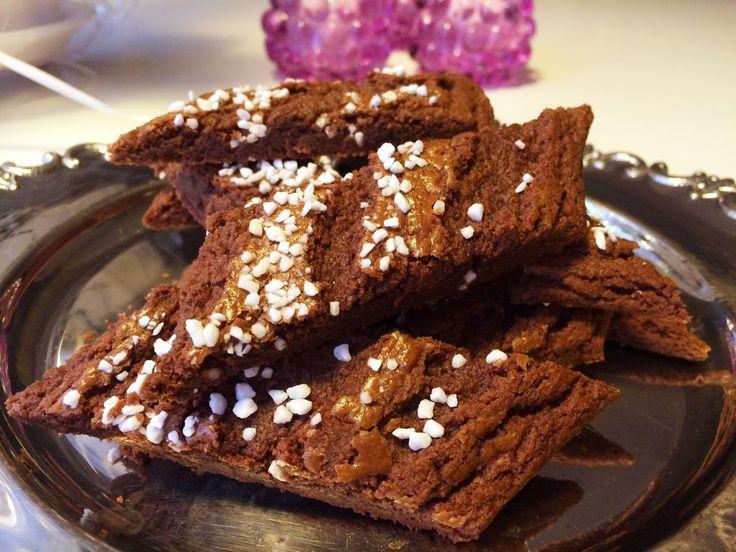 Underbara klassiska småkakor med chokladsmak.