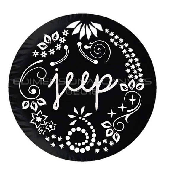 Enigma Jeep Spare Tire Cover