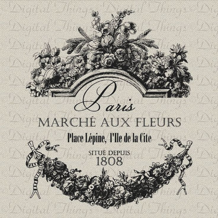 French Paris Flower Market