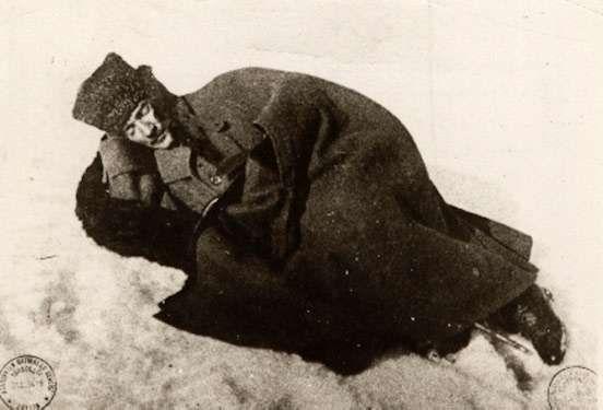 Mustafa Kemal Ataturk, during the First Battle of Inonu.