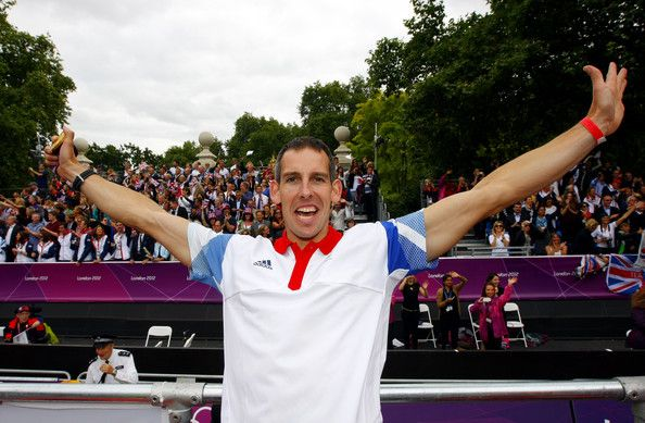 Etienne Stott - Olympics & Paralympics Team GB - London 2012 Victory Parade