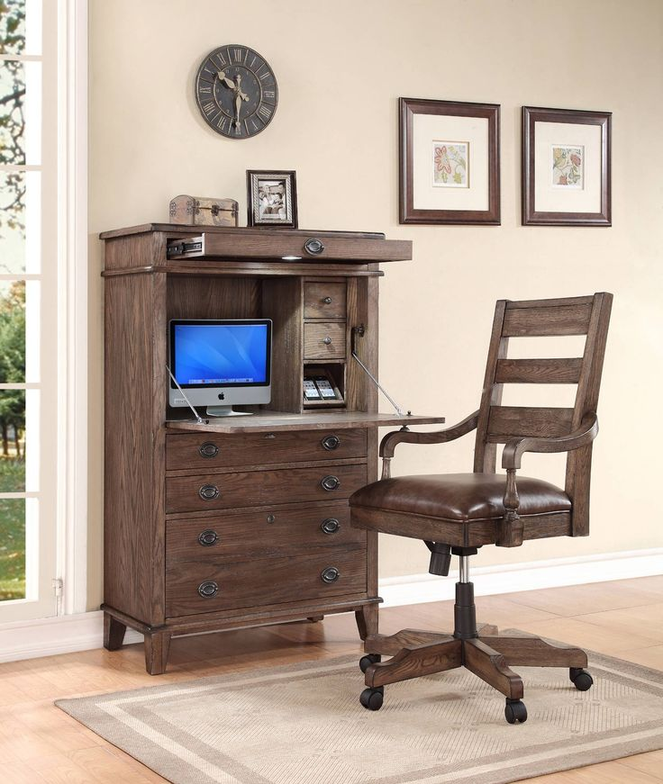 Harrison Flats Secretary Desk | Turnkey Products | Home Gallery Stores
