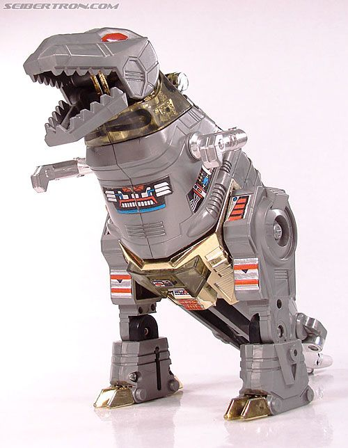 """Transformers"" figure: Grimlock, leader of the Dinobots (and my absolute life-time favorite Transformers character)."